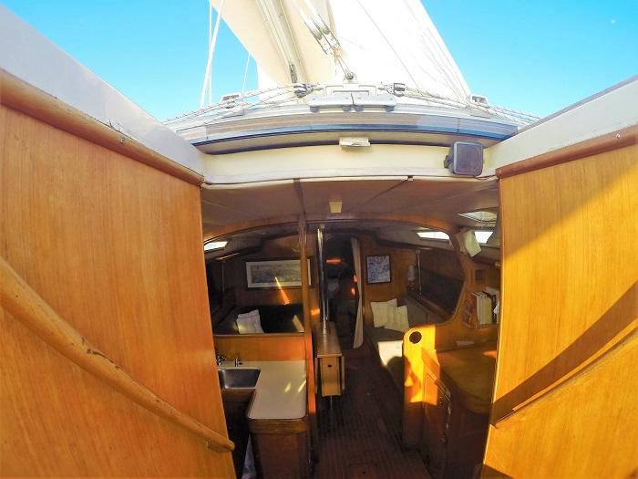 Sailing around the Balearic Islands