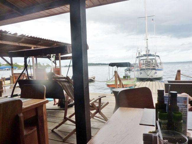 The bay in Bocas del Toro